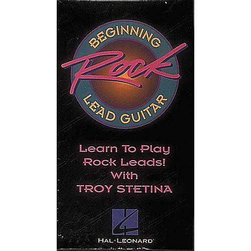 Hal Leonard Beginning Rock Lead Guitar Video