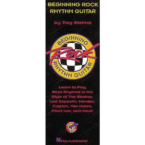 Hal Leonard Beginning Rock Rhythm Guitar Book-thumbnail