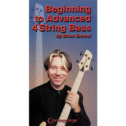Centerstream Publishing Beginning to Advanced 4-String Bass VHS