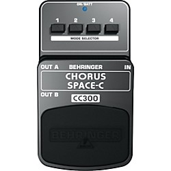 Behringer CC300 Chorus Space-C Guitar Effects Pedal