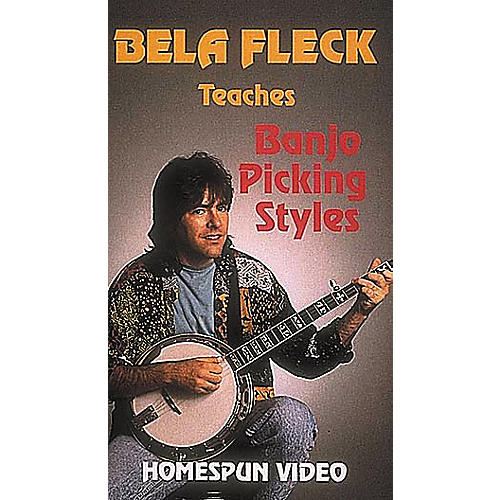 Hal Leonard Bela Fleck Teaches Banjo Picking Styles Video-thumbnail