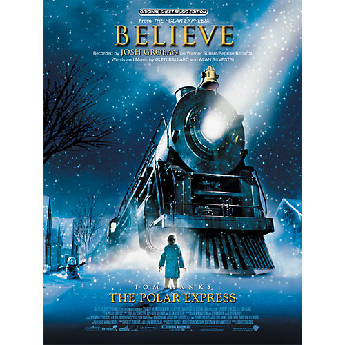 Alfred Believe (from The Polar Express) Piano/Vocal/Chords Sheet-thumbnail