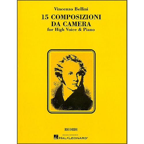 Hal Leonard Bellini - 15 Composizioni Da Camera for High Voice-thumbnail