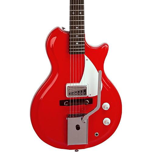 Supro Belmont Vibarato Semi-Hollow Electric Guitar-thumbnail