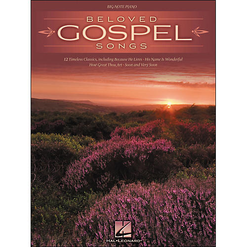 Hal Leonard Beloved Gospel Songs for Big Note Piano-thumbnail