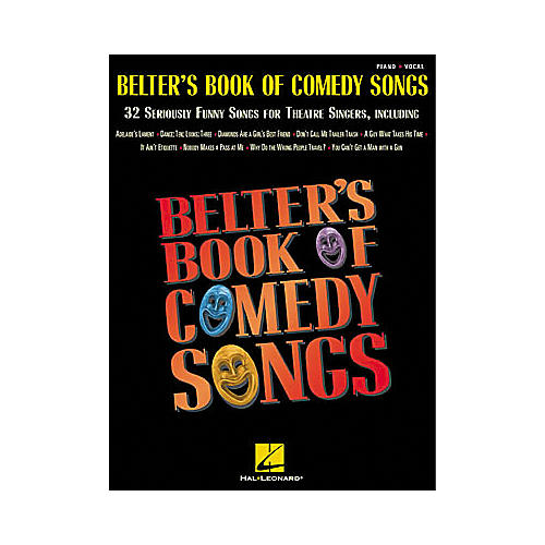Hal Leonard Belter's Book of Comedy Songs