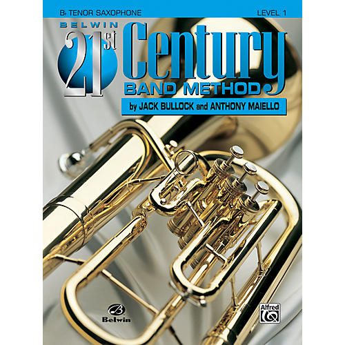 Alfred Belwin 21st Century Band Method Level 1 B-Flat Tenor Saxophone Book-thumbnail