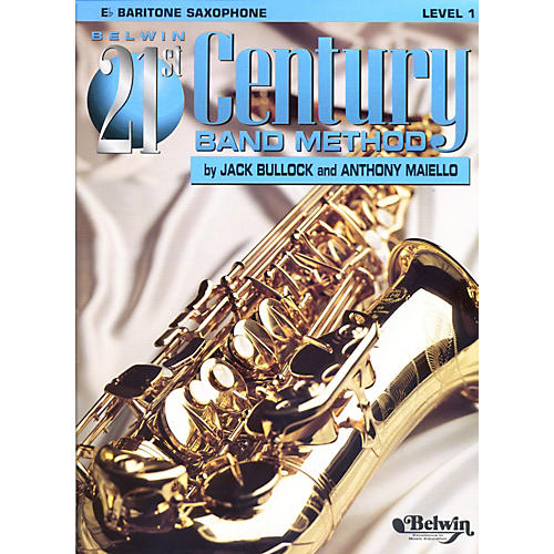 Alfred Belwin 21st Century Band Method Level 1 Bari Sax Book
