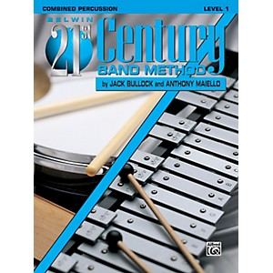 Alfred Belwin 21st Century Band Method Level 1 Combined Percussion Book by Alfred