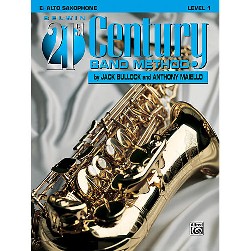 Alfred Belwin 21st Century Band Method Level 1 E-Flat Alto Saxophone Book-thumbnail