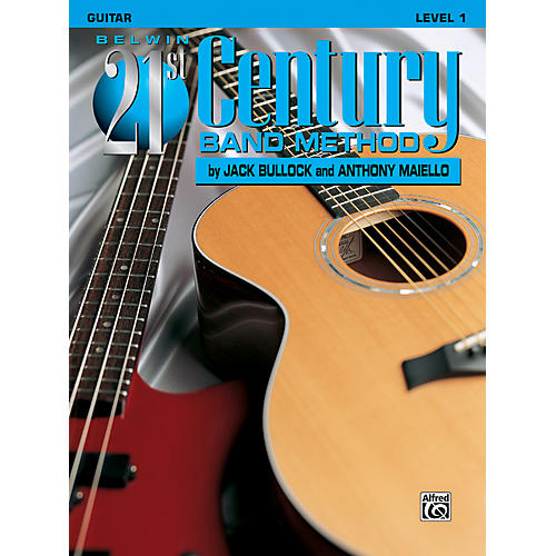 Alfred Belwin 21st Century Band Method Level 1 Guitar Book-thumbnail