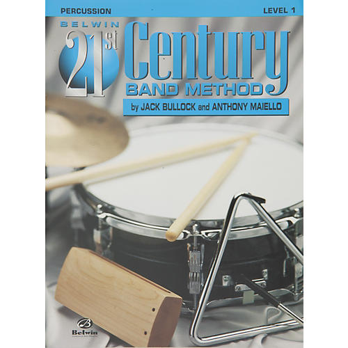 Alfred Belwin 21st Century Band Method Level 1 Percussion Book-thumbnail
