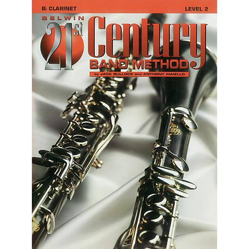 Alfred Belwin 21st Century Band Method Level 2 B-Flat Clarinet Book-thumbnail