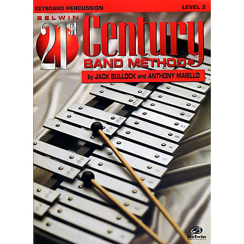 Alfred Belwin 21st Century Band Method Level 2 Keyboard Percussion Book-thumbnail