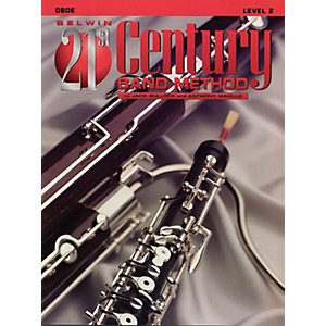 Alfred Belwin 21st Century Band Method Level 2 Oboe Book by Alfred