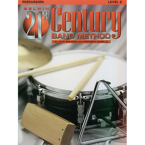 Alfred Belwin 21st Century Band Method Level 2 Percussion Book
