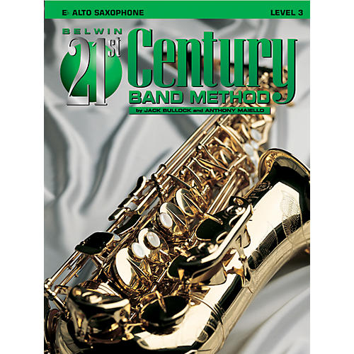 Alfred Belwin 21st Century Band Method Level 3 Alto Sax Book-thumbnail
