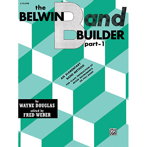 Alfred Belwin Band Builder Part 1 C Flute-thumbnail