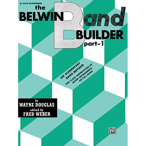 Alfred Belwin Band Builder Part 1 E-Flat Alto Saxophone-thumbnail