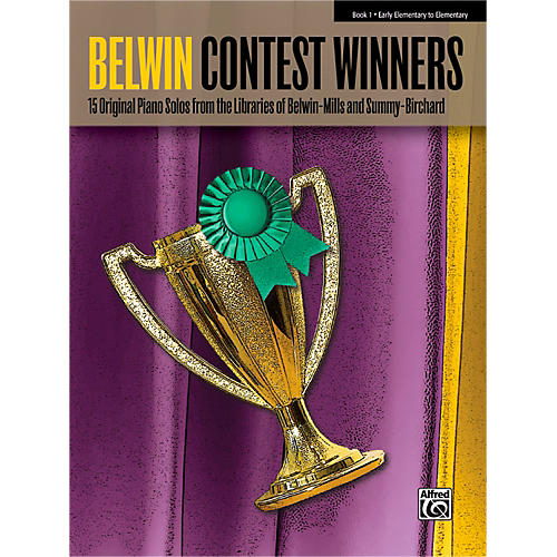 Alfred Belwin Contest Winners Piano Book 1-thumbnail
