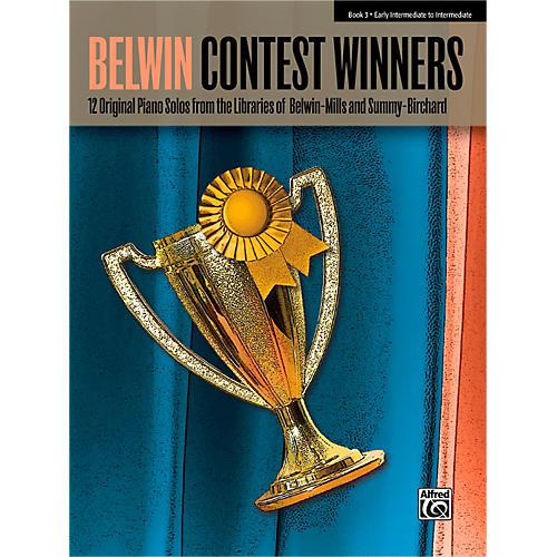 Alfred Belwin Contest Winners Piano Book 3