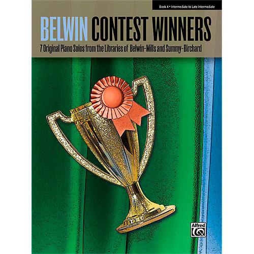 Alfred Belwin Contest Winners Piano Book 4