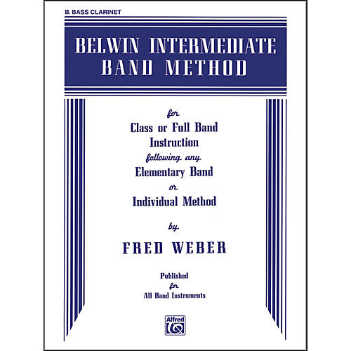 Alfred Belwin Intermediate Band Method B-Flat Bass Clarinet-thumbnail
