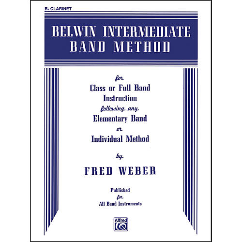 Alfred Belwin Intermediate Band Method B-Flat Clarinet-thumbnail