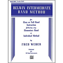 Alfred Belwin Intermediate Band Method Baritone T.C.
