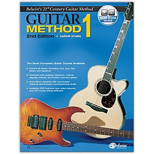 Alfred Belwin's 21st Century Guitar Method 1, Book and Online Audio 2nd Edit... by Alfred