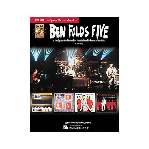 Hal Leonard Ben Folds Five - Keyboard Signature Licks Book with CD-thumbnail