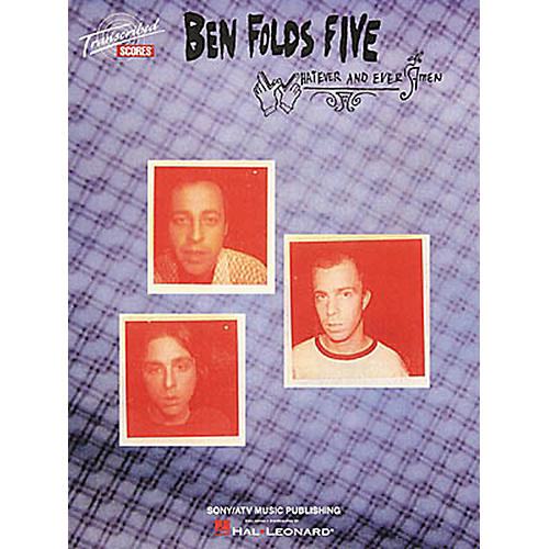 Hal Leonard Ben Folds Five - Whatever and Ever Amen Book-thumbnail