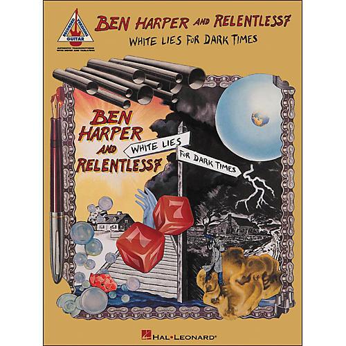 Hal Leonard Ben Harper And Relentless7 - White Lies for Dark Times Tab Book-thumbnail
