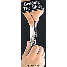 Music Sales Bending the Blues Harmonica Book