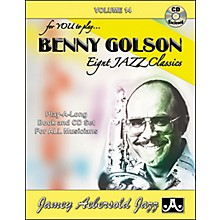 Jamey Aebersold Benny Golson Eight Jazz Classics for You to Play Book/CD