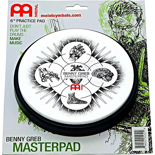 Meinl Benny Greb Practice Pad-thumbnail