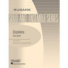 Rubank Publications Bergamask (Flute Solo with Piano - Grade 2.5) Rubank Solo/Ensemble Sheet Series