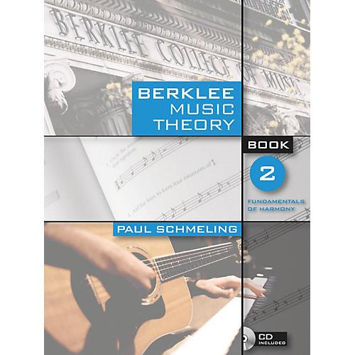 Berklee Press Berklee Music Theory - Book 2 Book/CD