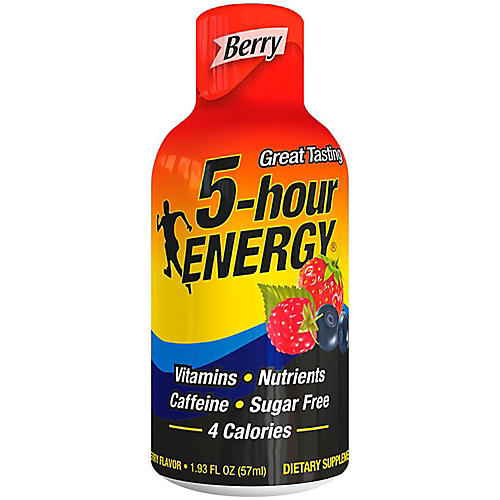 5-hour Energy Berry Flavored Drink
