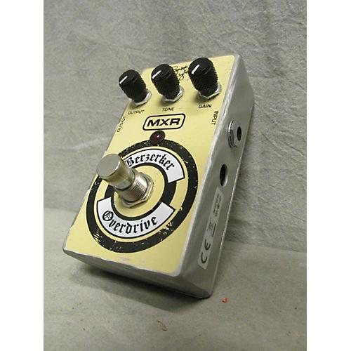 MXR Berzerker Overdrive Effect Pedal-thumbnail