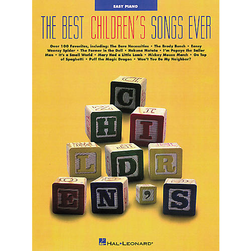 Hal Leonard Best Childrens Songs Ever Easy Piano Songbook-thumbnail
