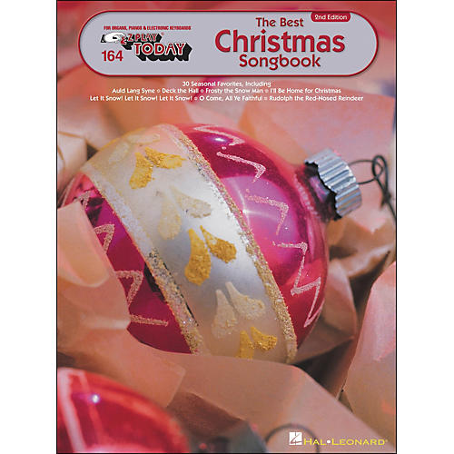 Hal Leonard Best Christmas Songbook 2nd Edition E-Z Play 164-thumbnail