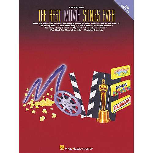 Hal Leonard Best Movie Songs Ever For Easy Piano 2nd Edition-thumbnail