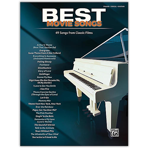 Alfred Best Movie Songs Piano/Vocal Songbook-thumbnail