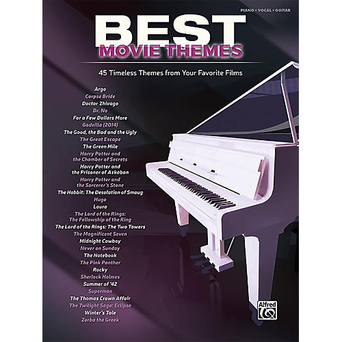 Alfred Best Movie Themes Piano/Vocal Songbook