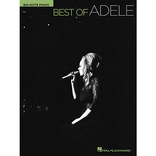 Hal Leonard Best Of Adele For Big Note Piano-thumbnail