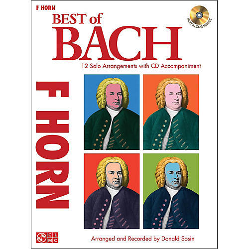 Cherry Lane Best Of Bach French Horn-thumbnail
