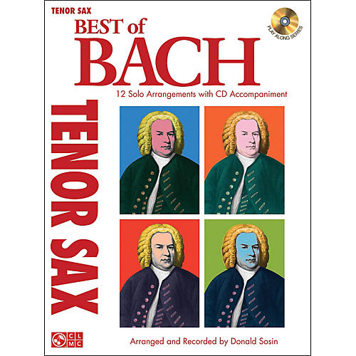 Cherry Lane Best Of Bach Tenor Sax