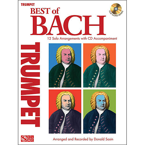 Cherry Lane Best Of Bach Trumpet-thumbnail
