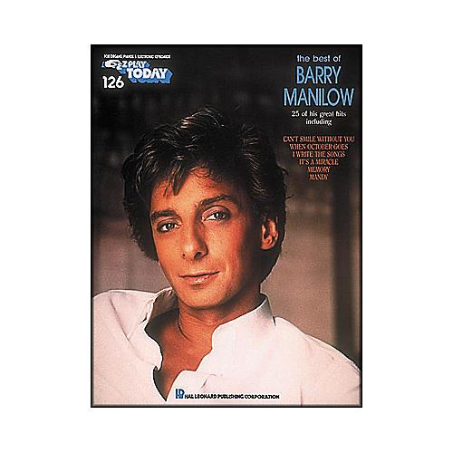 Hal Leonard Best Of Barry Manilow E-Z Play 126-thumbnail